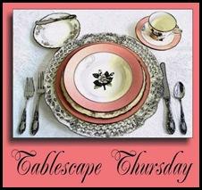 Tablescape Thursday logo