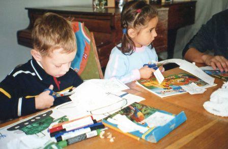 Handcraft is very popular among children.
