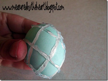 dyed easter egg