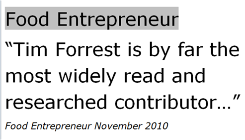 Food Entrepreneur 2010 M