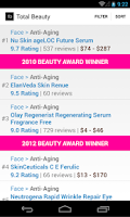 Screenshot of Beauty Product Reviews
