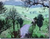 David Hockney - Winter trees