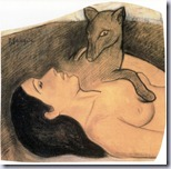Gauguin - Young Girl With Fox