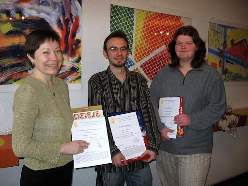 Nagrody dla słuchaczy Studium Grafiki Reklamowej przy ZSE