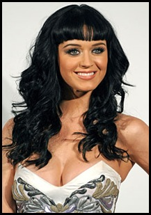Katy Perry Bangs