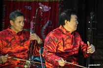 Traditional musicians in Tianjin, China