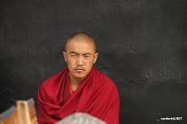Monk at Tashilunpon monastery, Tibet