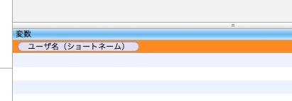変数一覧に追加された変数