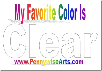 Favorite Color Is Clear