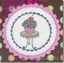 Pink cupcake - Julie