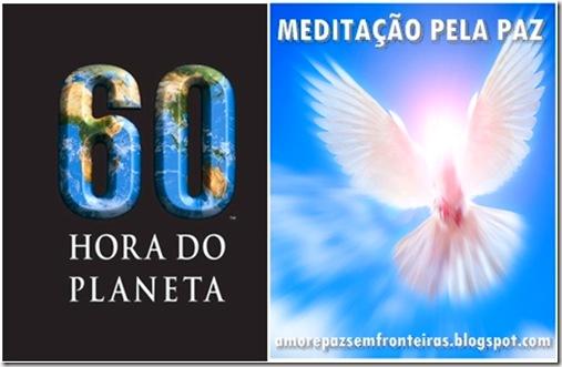 Meditação pela Paz e Hora do Planeta