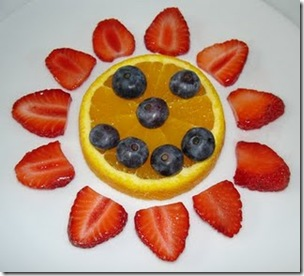 fruit sun smile