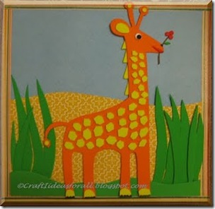 Giraffe Nursery Wall Art