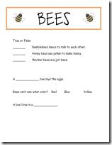 Bee_Worksheet