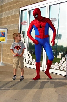 Treyton and Spiderman3