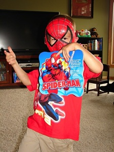 Treyton and Spiderman5