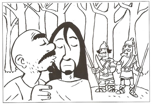 Me gusta la clase de religión: Dibujos para colorear, Semana Santa
