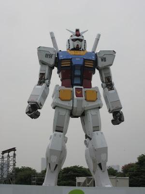 Gundam de Verdade no Japão