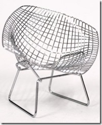 harry bertoia poltrona diamante
