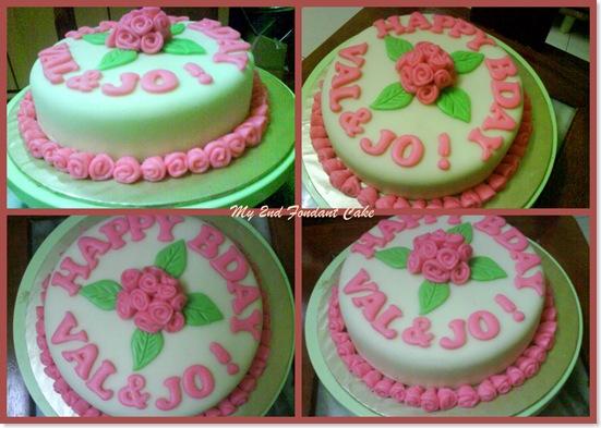 2nd fondant cake