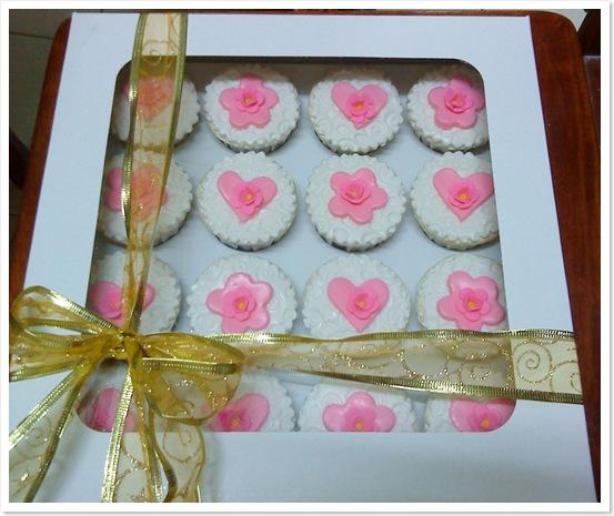 Cupcakes fondant for Hantaran