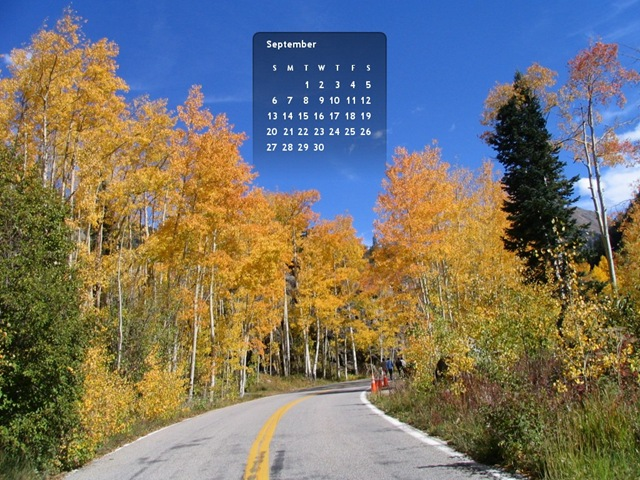 Aspen sept 09 Calendar Wallpaper- 1024x768