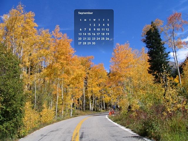 Aspen sept 09 Calendar Wallpaper- 1024x768