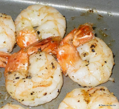 Roasted Shrimp - Photo by Michelle Judd of Taste As You Go