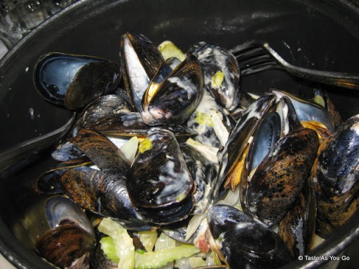 Mussels Au Pastis at Petite Abeille in New York, NY