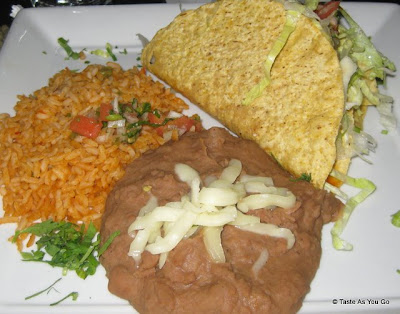 Taco Combination Platter at La Cocina in New York, NY - Photo by Taste As You Go