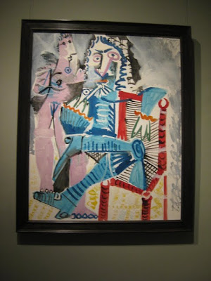 Standing Nude and Seated Musketeer by Pablo Picasso at the Metropolitan Museum of Art in New York, NY - Photo by Taste As You Go