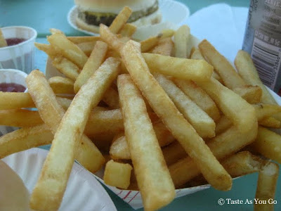 French Fries on the Boardwalk at Spring Lake Beach in Spring Lake, NJ - Photo by Taste As You Go