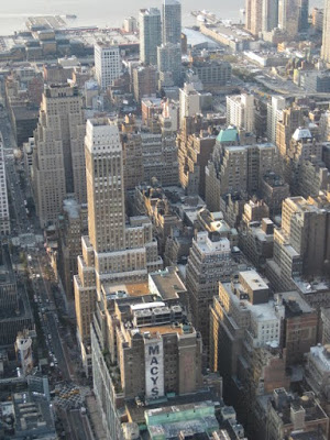 View of Macy's and Herald Square from Empire State Building - Photo by Taste As You Go