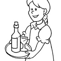 CYCLE OF WINE COLORING PAGES