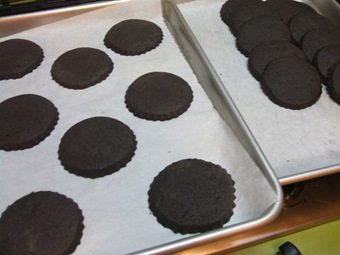 cookies outta oven