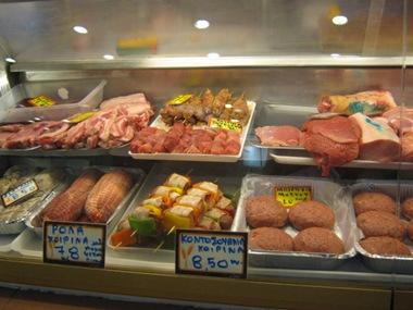 chania market butcher