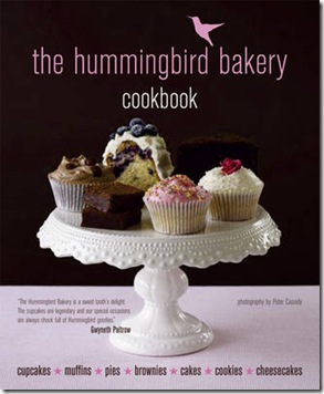 the HummingBird Bakery Cupcake