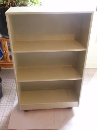 varnished shelf 1