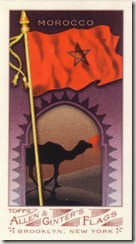 2007 Topps AG Flags Morocco