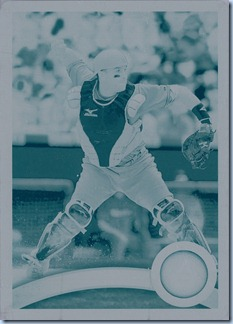 2011 Topps Montero Printing Plate 1 of 1