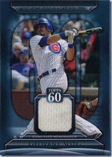 2011 Topps Soto Jersey