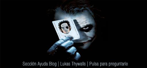 Pulsa y pregúntale a Lukas