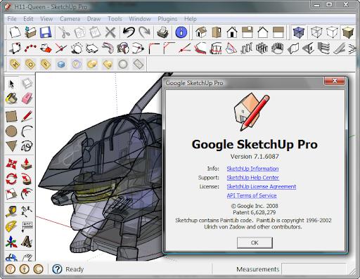 Google SketchUp Pro 7.1.6087
