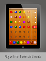 Screenshot of Color Code Mastermind