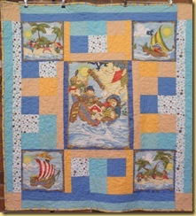 Childs bear quilt