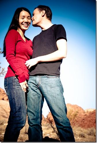 Engagement Red Rock Portrait-6