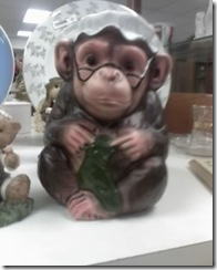 Knitting Grandma Chimp