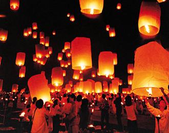 صور احتفالات تايلاند