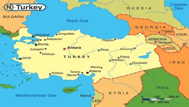 خريطة انقرة
