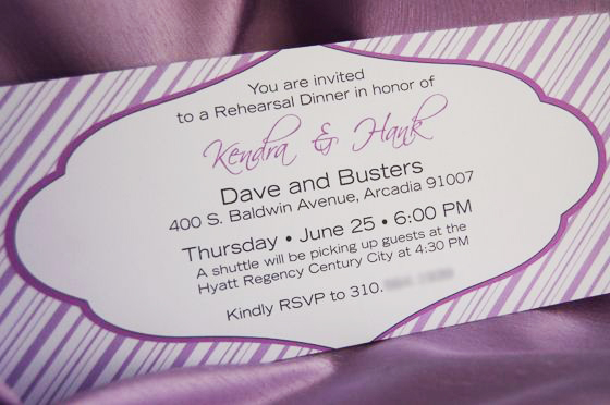 rehearsal dinner invitations wedding